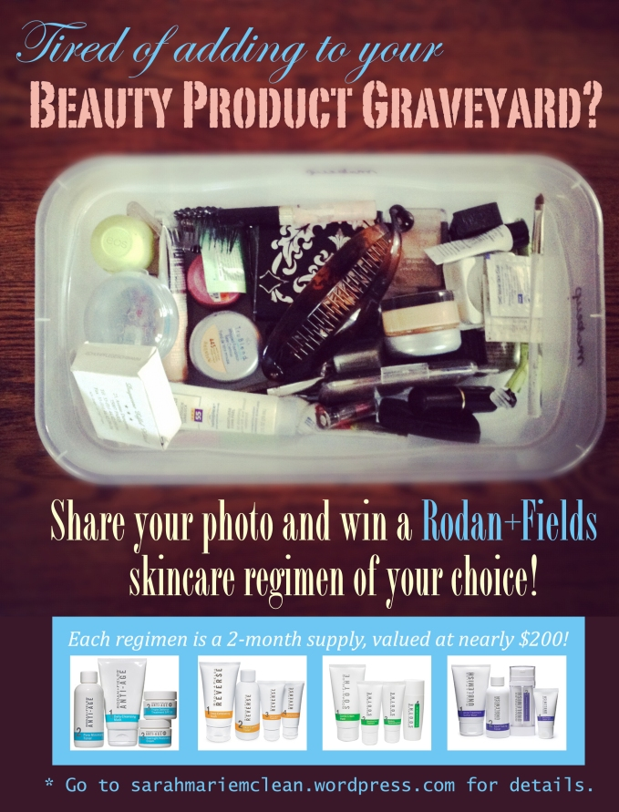 Beauty Product Graveyard